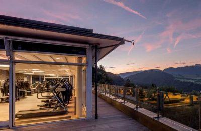 Außenansicht vom Fitnesscenter