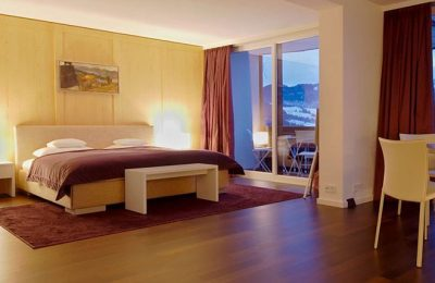Bett in der Sonne Suite Südseite