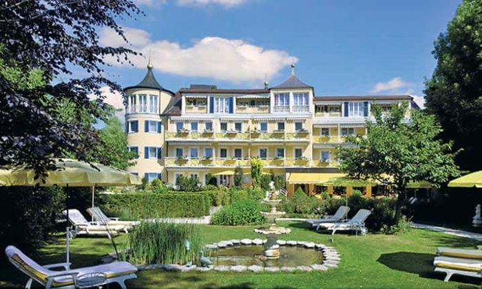 Außenansicht vom Hotel Fontenay