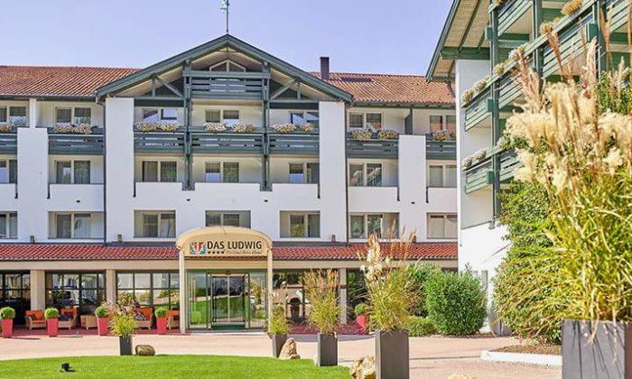 Hotel Das Ludwig in der Außenansicht