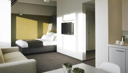 Wohnraum im Aspria apartment