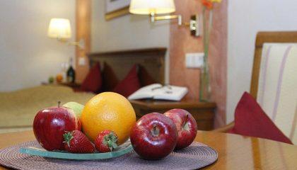 Frisches Obst im Doppelzimmer Executive 4