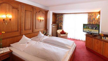 Bett im Zimmer Magnolie