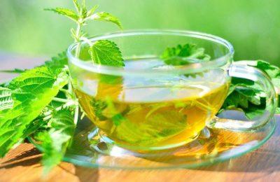 Tee für Heilfasten in der Nahaufnahme