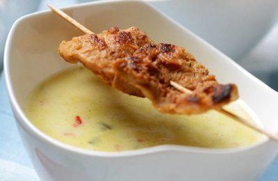 Suppe mit Beilage