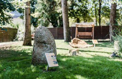 Steine im Wellnessgarten