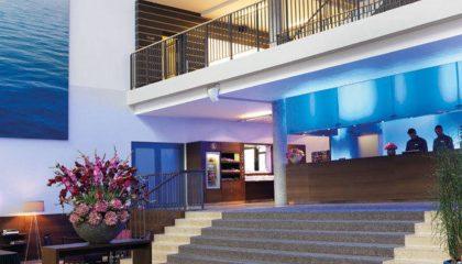 Rezeption im Aspria Hotel