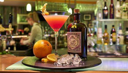 Cocktail an der Bar