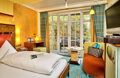 Bett im Franzözisches Zimmer