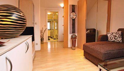 Wohnraum im Doppelzimmer Typ 3