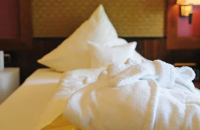 Kissen im Bett