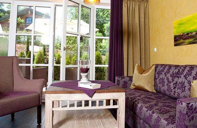 Wohnraum im Gartenzimmer 40 m²