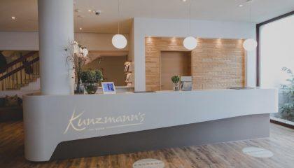 Empfang im Hotel Kunzmann's