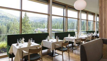 Restaurant mit Aussicht am Tag