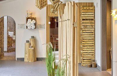 Eingang zur einer Sauna