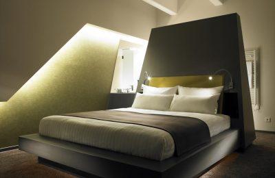 Doppelbett im Deluxe King Room