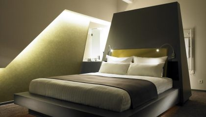Doppelbett im Deluxe King Room