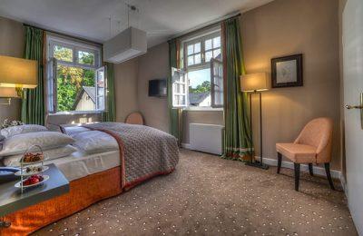 Bett im Sierstorpff Zimmer