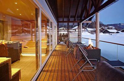 Terrasse am Haus am See
