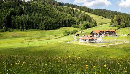 Das Resort liegen mitten in der Natur