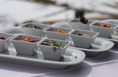 Zutaten für einen Salat