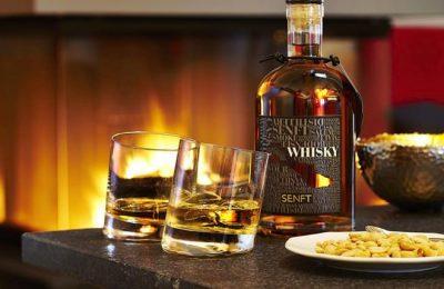 Whiskey im Hotel