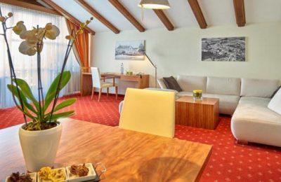 Wohnraum in der Grand Suite