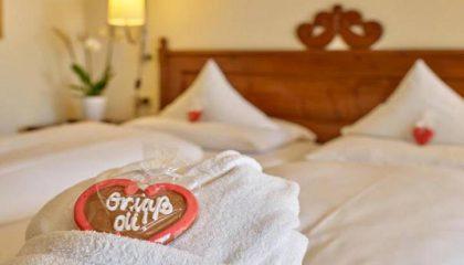 Bett im Komfort Doppelzimmer