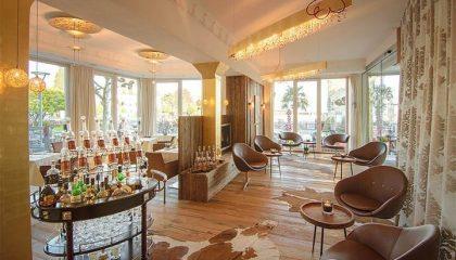 Gemütliche Lounge in der Lobby