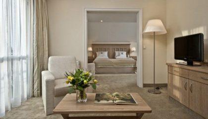 Wohnraum in der Max Suite