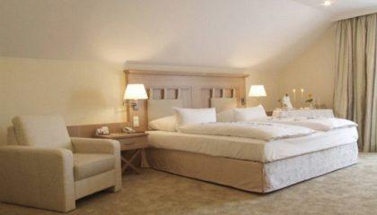 Bett in der Max Suite 2
