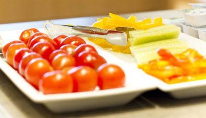 Gesundes Obst im Spa Bereich