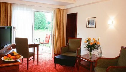 Wohnraum in der Suite Comfort