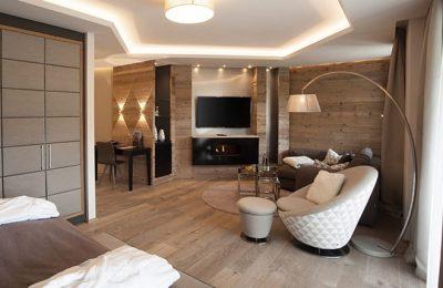 Wohnbereich in der Relax Suite