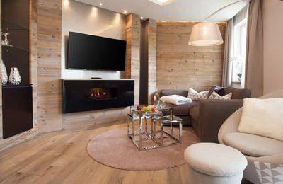Wohnbereich in der Relaxsuite