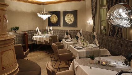Sitzecke im Restaurant