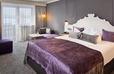 Bett im Falkenstein Singlezimmer