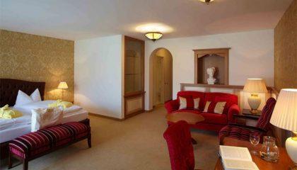 Wohnraum in der Junior Suite Ludwig