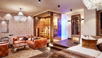 Wohnraum im Suite