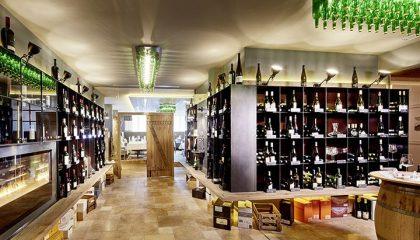 Erlesene Weinauswahl in der Vinothek