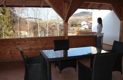 Balkon in der Ferienwohnung Typ a 2
