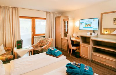 Wohnraum im Komfort Doppelzimmer