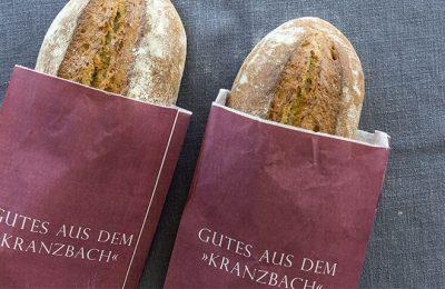 verpacktes Brot aus der Bäckerei