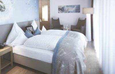 Bett im Doppelzimmer Superior