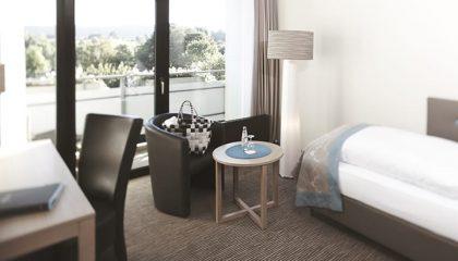 Wohnraum im Einzelzimmer Komfort