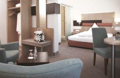 Wohnraum im Einzelzimmer Komfort Plus