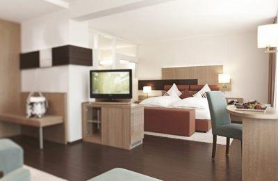 Wohnraum in der Kunzmann's Suite
