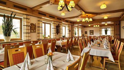 Restaurant im bayerischen Stil