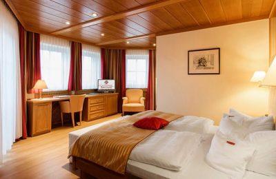Bett im Doppelzimmer Plus 105
