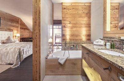 Wohn- und Schlafbereich im Hirschensteinzimmer
